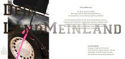 DeinLandMeinLand Event Frankfurt Einladung Andreas