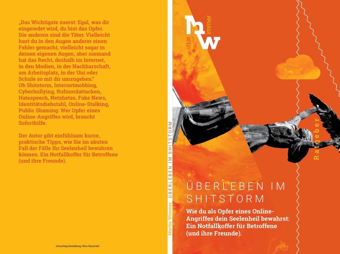 Martin Wimmer, Überleben im Shitstorm. 9,99 Euro.ISBN: 978-3-748524-19-9